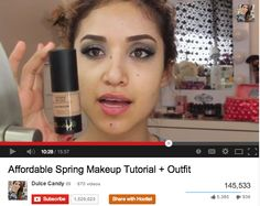 Beauty-Guru, @Dulce Hernández Candy, and our Anti-Aging BB Cream http://www.aneleycosmetics.com/product/bb-cream/ … #makeupchat #youtube   Video: https://www.youtube.com/watch?v=hDOnW5jFOiY