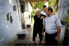 """""""The tradition of the sworn virgin in Albania, a ritual of self-empowerment for rural women who become patriarchs of their families by swearing an oath to remain celibate, was born of a social necessity in an agrarian region plagued by war and death."""" - Johan Spanner for The New York Times"""