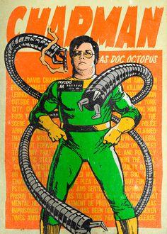 Mark Chapman est Docteur Octopus, ennemi de Spider-Man