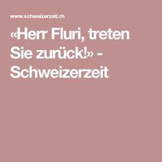 «Herr Fluri, treten Sie zurück!» - Schweizerzeit