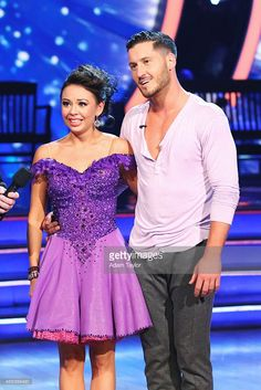 Janel Parrish and Val, Season 19, 2014