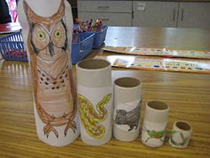 We learned about the food chain in science this week. Every student got to make an interactive model (based on nesting dolls) which illustr. 4th Grade Science, Elementary Science, Science Classroom, Teaching Science, Science Education, Science For Kids, Science Activities, Science Projects, Science Experiments