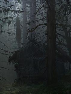 Arte Horror, Horror Art, Dark Fantasy Art, Fantasy World, Creepy Art, Dark Photography, Dark Places, Monster Art, Dark Forest