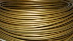Ledning Rund-PVC bronze. 13,25 kr. pr.m. kun 100 m kan købes