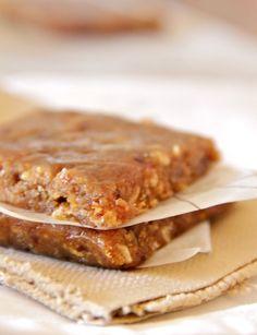 peanut butter banana energy bars