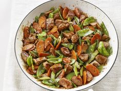 Put the takout menu down: this veggie heavy sweet-and-sour pork stir-fry is ready in just 10 minutes.