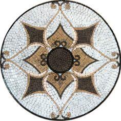 Handmade Mosaic | Mosaic Mandala | Indian Mosaics | Indian Handmade Mandala | Mosaic Art | Mosaic Artwork | Kitchen Mosaic Backsplash | #Mozaico