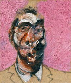 three studies for portrait of george dyer on pink ground center panel, Francis Bacon Paintings, Art, Painting, Art Pictures Francis Bacon, Abstract Portrait, Mark Rothko, Art For Art Sake, Art Graphique, Postmodernism, Sculpture, Dark Art, Art Pictures