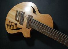 Greg Hurley - Custom #172  Myka Guitars  4+4 Bass + Guitar
