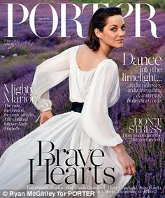 Face of Lady Dior, Marion Cotillard, looks like an absolute dream on the winter 2015 cover of PORTER Magazine. The French actress poses for Ryan McGinley while… Marion Cotillard, Fashion Competition, Fashion Magazine Cover, Magazine Covers, Richard Gere, Haute Couture Dresses, Couture 2015, Couture Fashion, Vogue