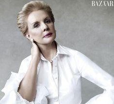 Everytime I think of a white shirt, I'll thikn of Carolina Herrera. Elegant yet powerful. Fashion Week Nyc, Fashion 2014, Carolina Herera, Victor Demarchelier, She's A Woman, She's A Lady, Estilo Fashion, Fashion Articles, Show Photos