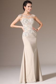 eDressit 2014 New Champagne Sheer top Mother of the Bride Dress (26142614)