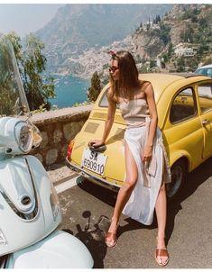Vintage bug car