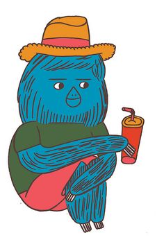 Nobrow sloth by Jon Boam.
