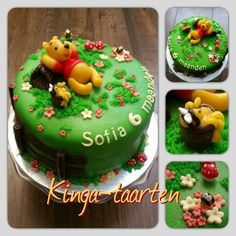tort Kubuś Puchatek / Winnie de Poeh taart / Winnie the Pooh cake