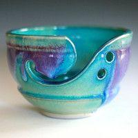 Yarn bowl. Very cool.