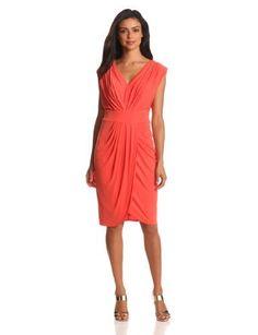 Suzi Chin Women's Faux Wrap Dress, Sunset, 2 Suzi Chin,http://www.amazon.com/dp/B0095G9A7O/ref=cm_sw_r_pi_dp_kILjrb1V8RQCGPK8