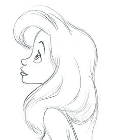 This looks a bit like Ariel to me and I would love to learn how to draw this just so I can tell people I drew a mermaid