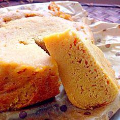温めてふわふわきゃぁ早く準備しなくっちゃwww - 74件のもぐもぐ - section of a Brown sugar steamed bread of soy flour♨大豆粉の黒糖蒸しパン by Ami