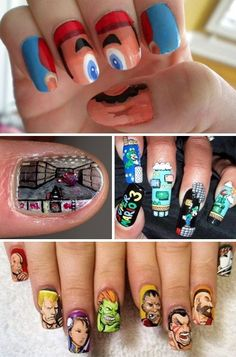 I hate nails but I got to admit, it is pretty badass.