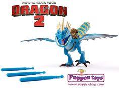 Figura Stormfly Power Dragón Como entrenar a tu Dragón 2 BIZAK ...