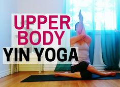 30 min Yin Yoga for Beginners - Yin for Neck, Shoulder & Upper Back Tension Relief Yin Yoga Sequence, Yin Yoga Poses, Yoga Shoulder, Shoulder Tension, Yoga Positions For Beginners, Become A Yoga Instructor, Yoga With Adriene, Yoga Philosophy, Gentle Yoga
