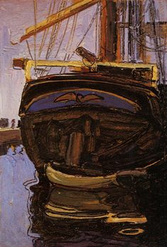 Trees Mirrored in a Pond - Egon Schiele - WikiPaintings.org