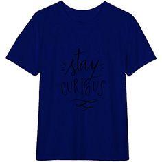 bb3699048 Amazon.com: Stay Curious Shirt For Men's Tshirt - Color Royal Blue 2XL:  Clothing