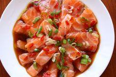 La Cucinetta: Tirando trauma: ceviche de salmão