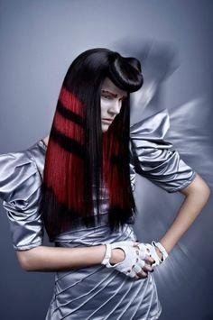 Avant-garde #hair #makeup #CapitolCoutureCollection
