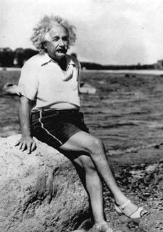 Einstein and his fabulous shoes