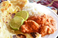 Chicken Tikka Masala Recipe with Buttered Naan