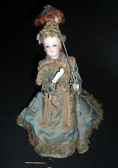 Vichy Automaton French Fashion Doll Subject from antiquedolls6395 on Ruby Lane