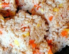 activities for kids 15 Fall Rice Krispies Treats  recipes photo
