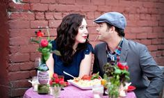 Beyond Frozen Wedding Cake: 15 First Anniversary Ideas via Brit + Co.
