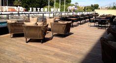 La nouvelle terrasse d'été du New Hotel Of Marseille Outdoor Furniture Sets, Outdoor Decor, Table Decorations, Design, Home Decor, Terrace, Decoration Home, Room Decor, Dinner Table Decorations
