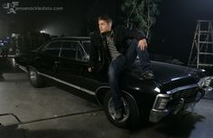 Jensen and that car <3