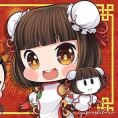 No photo description available. Kawaii Chibi, Cute Chibi, Mobiles, Miya Mobile Legends, Mobile Legend Wallpaper, Happy Chinese New Year, Aesthetic Pastel Wallpaper, Cartoon Memes, Cute Cartoon Wallpapers