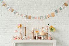 pastel & metallic party themed DIYs