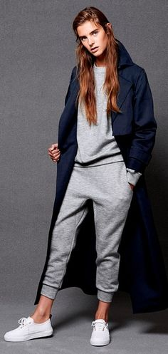 So you thought the tracksuit could never make it in women's fashion? Jog on!