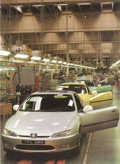 Pinifarina Grugliasco factory circa 1997-1998