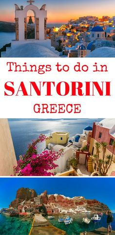 Santorini, Greece - Things to do in Santorini, What to do in Santorini - A guide to Santorini - hotels, beaches, restaurants in Santorini