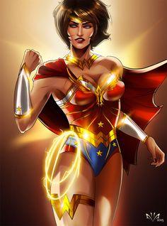 Wonder Woman aka Diana Prince Hope you like it ! Wonder Woman, Dc Comics, Dc Trinity, Female Comic Characters, Female Superhero, Mom Hairstyles, Black Girl Art, Black Girls, Ms Marvel