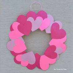 Plate Valentine's Day Heart Wreath Craft Kids can help decorate for Valentine's Day with this paper plate heart wreath craft.Kids can help decorate for Valentine's Day with this paper plate heart wreath craft. Valentine's Day Crafts For Kids, Valentine Crafts For Kids, Valentines Day Activities, Toddler Crafts, Craft Kids, Diy Valentines Day Wreath, Valentines Day Hearts, Valentines Day Decorations, Homemade Valentines