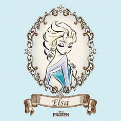 Elsa from Disney's Frozen Arte Disney, Disney Art, Disney Films, Disney And Dreamworks, Jack Frost, Disney Love, Disney Frozen, Princesa Elsa Frozen, Anna Und Elsa