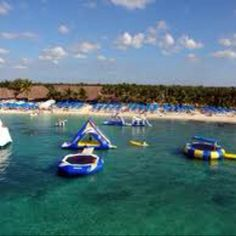 Paradise Beach in Cozumel. The kids loved it!
