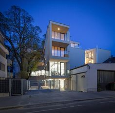 pedit & partner architekten Style At Home, Partner, Exterior, Mansions, House Styles, Home Decor, Architects, Projects, Decoration Home