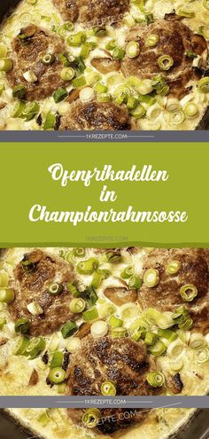 Oven meatballs in champagne cream sauce - kochen - Meat Recipes Healthy Eating Tips, Healthy Snacks, Vegan Garlic Bread, Pesto Tortellini, Keto Donuts, Oat Cookies, Vegetable Drinks, Yummy Appetizers, Cream Recipes