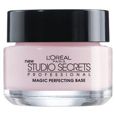 L'Oreal face primer - This softens the focus of deep wrinkles.  It has a very smooth and velvety feel to it.  I use on older subjects sometimes with nothing else. @Elaine Madelon recommends. #makeup