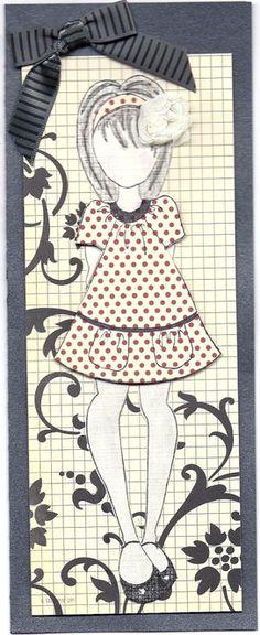 Card: Prima paper doll card